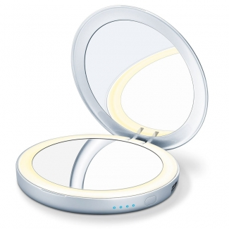 Зеркало косметическое карманное Beurer BS39 Power bank