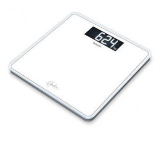 Весы напольные электрон. Beurer GS400, белые
